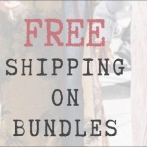 Other - For this weekend only FREE SHIPPING